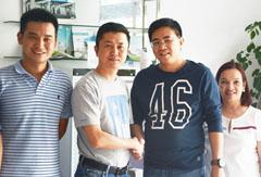 菲律宾客户慕名拜访格瑞宁总部