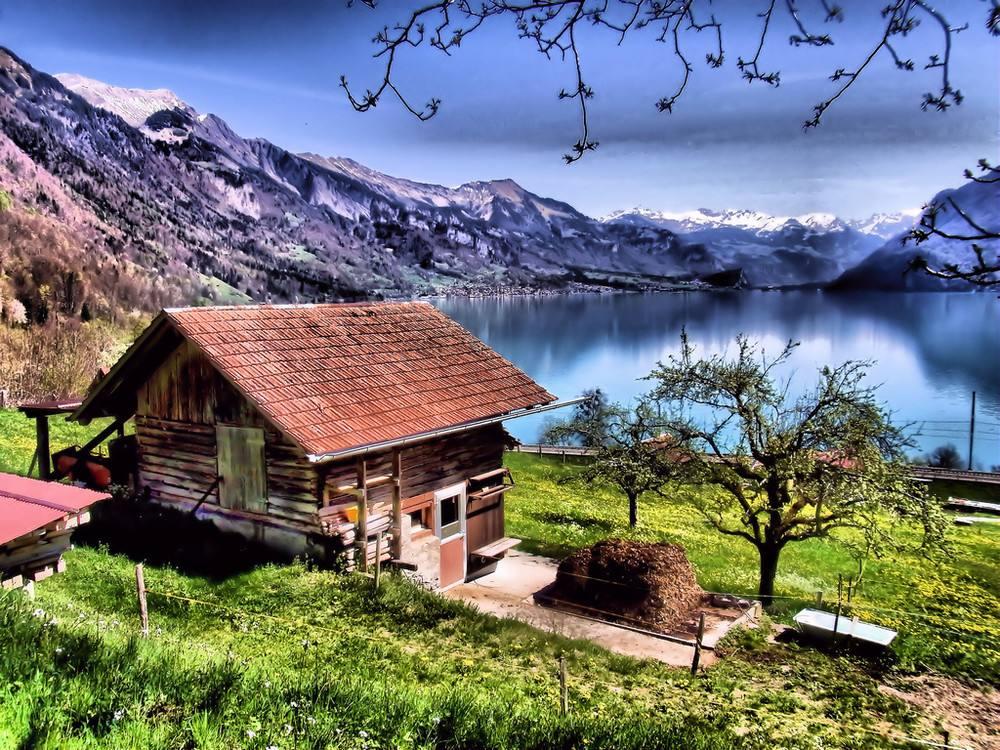 在瑞士,吸烟室很重要!