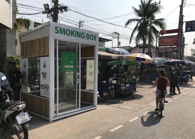 格瑞宁:在泰国吸烟,你只能去吸烟室,除非...