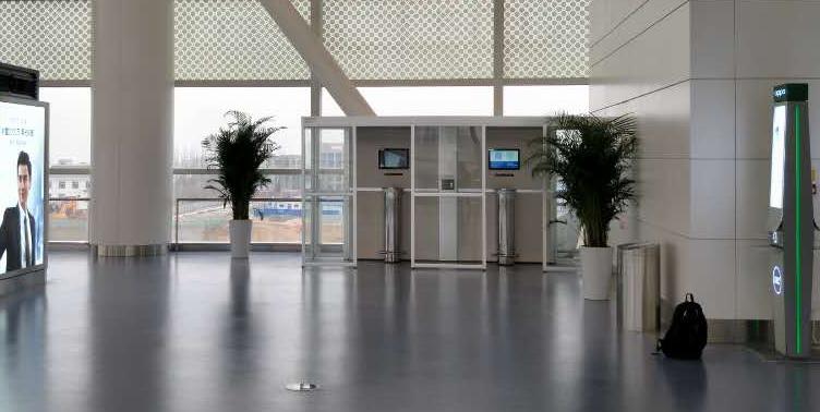 【银川机场】-机场控烟室-银川